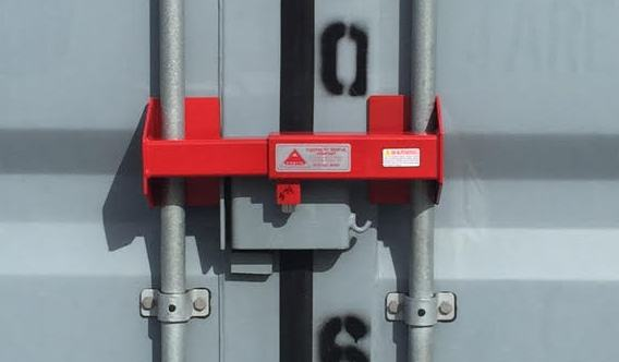 Heave Dute Container Lock For Storage Containers