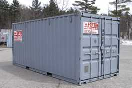 20 foot storage container.