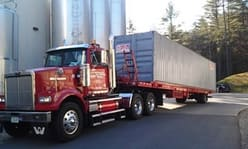 Western Star with Fortin Storage Container